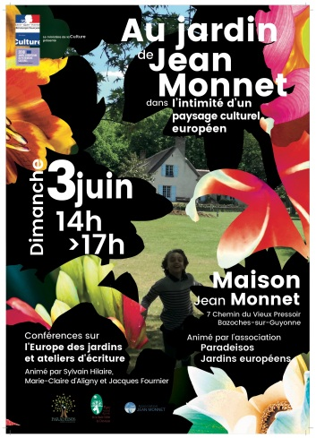 Affiche A3 Jardin Monnet europe FP